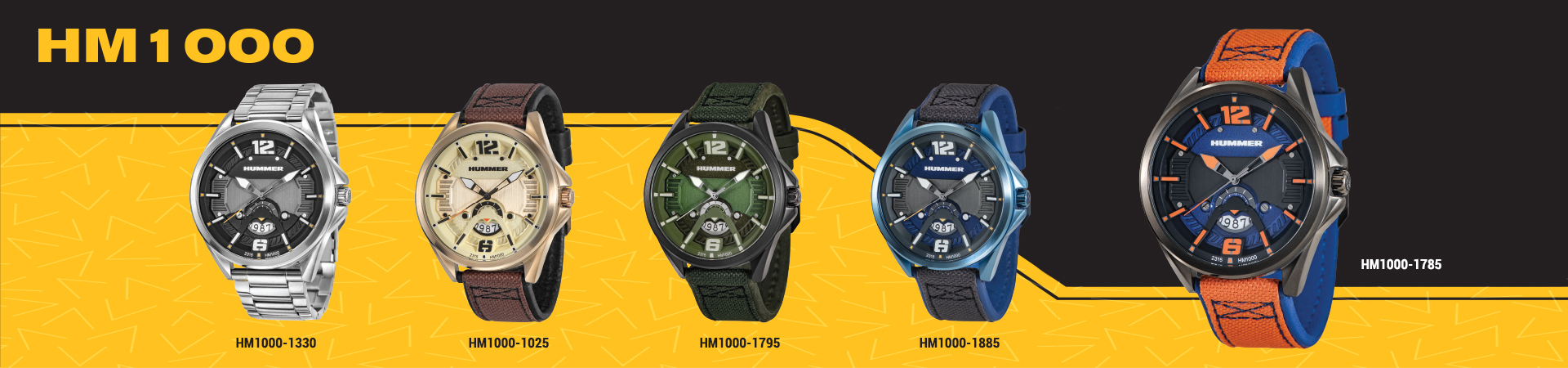 Hummer Watch Collection HM1000