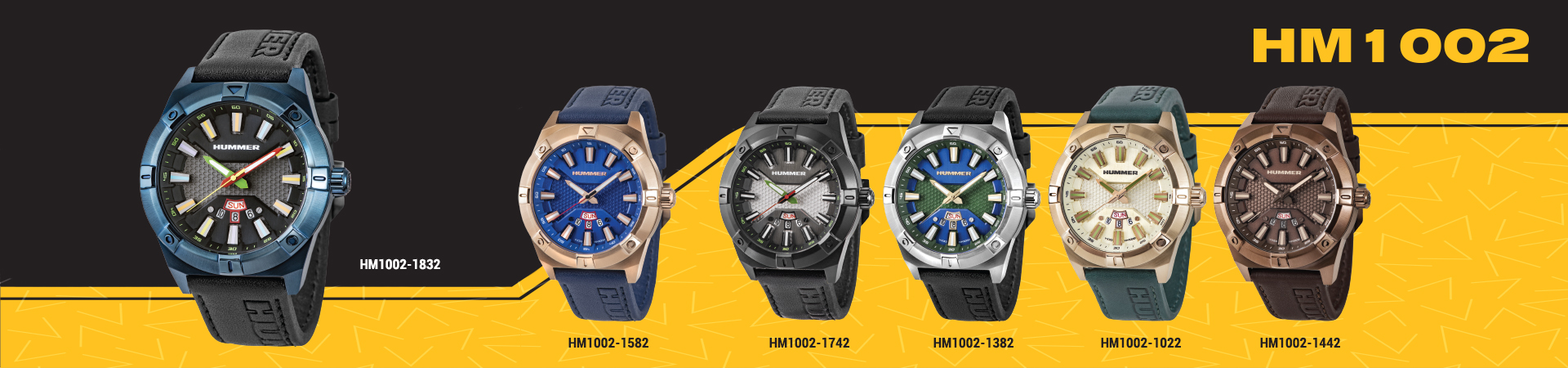Hummer Watch Collection HM1002