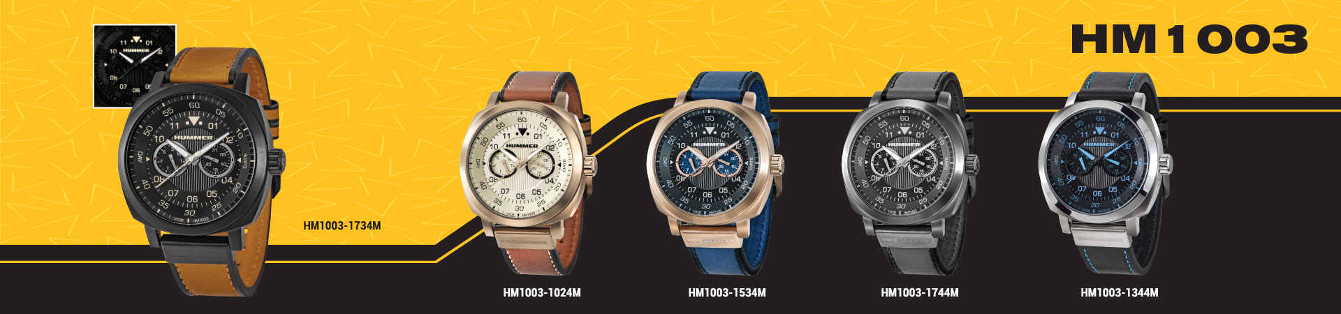 Hummer Watch Collection HM1003