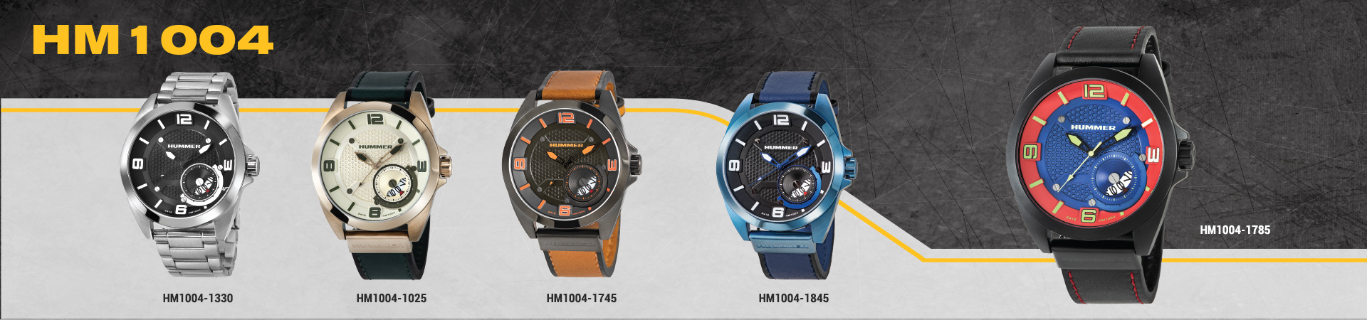Hummer Watch Collection HM1004