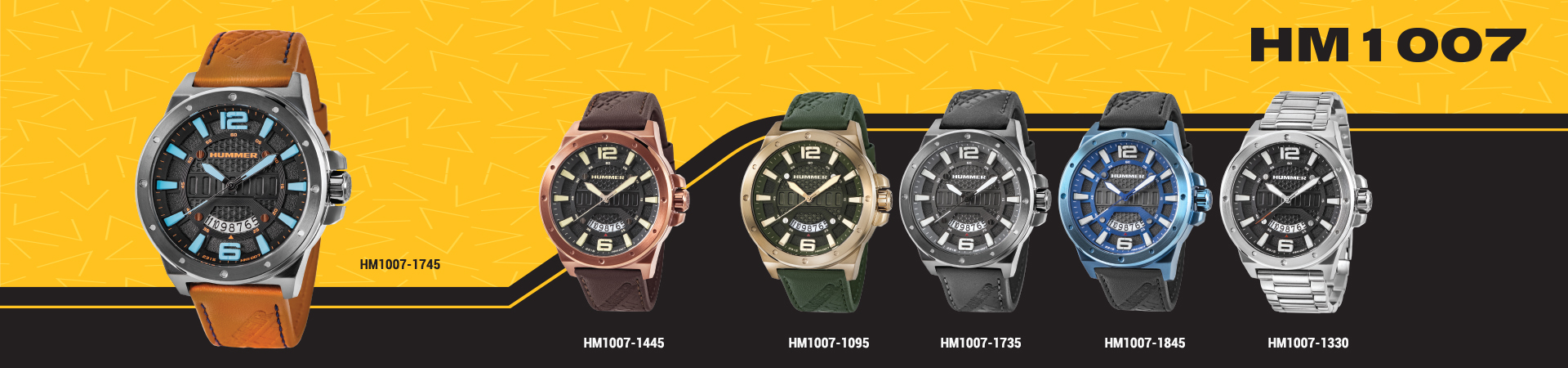 Hummer Watch Collection HM1007