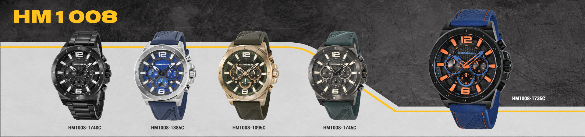 Hummer Watch Collection HM1008