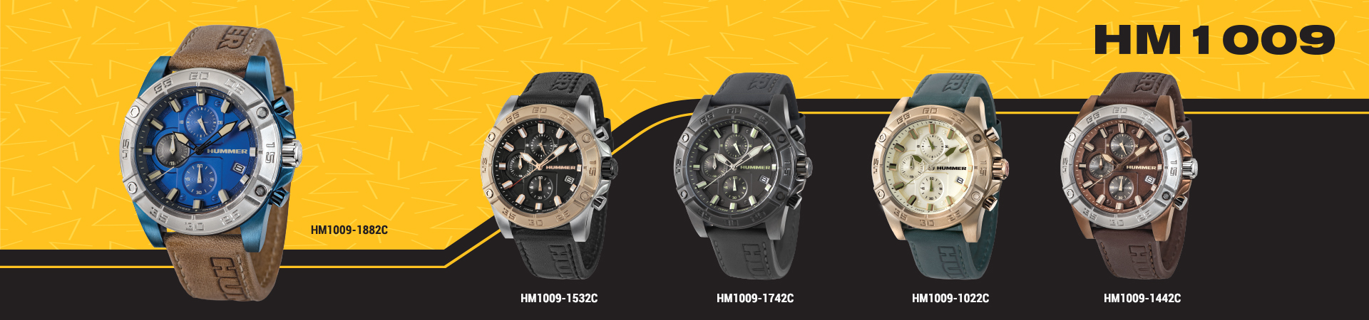 Hummer Watch Collection HM1009