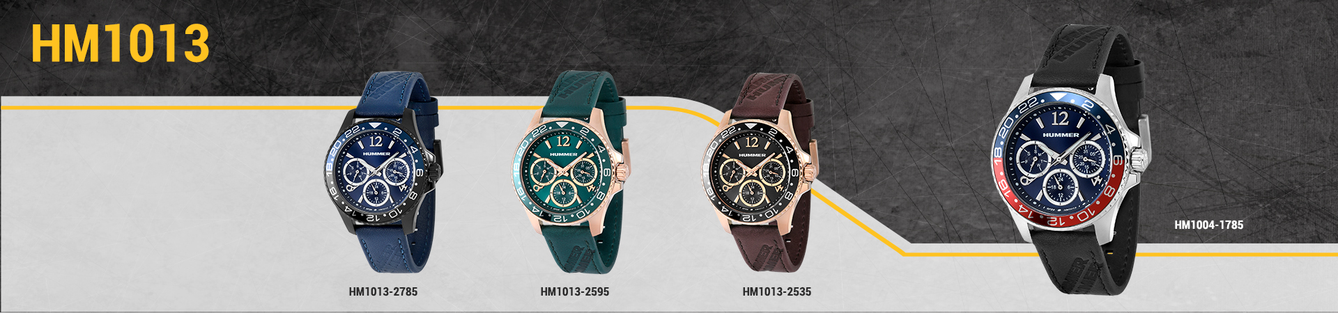 Hummer Watch Collection HM1013