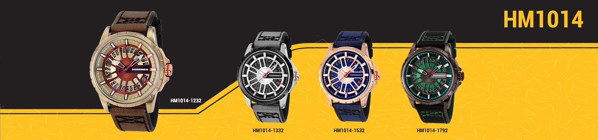 Hummer Watch Collection HM1014