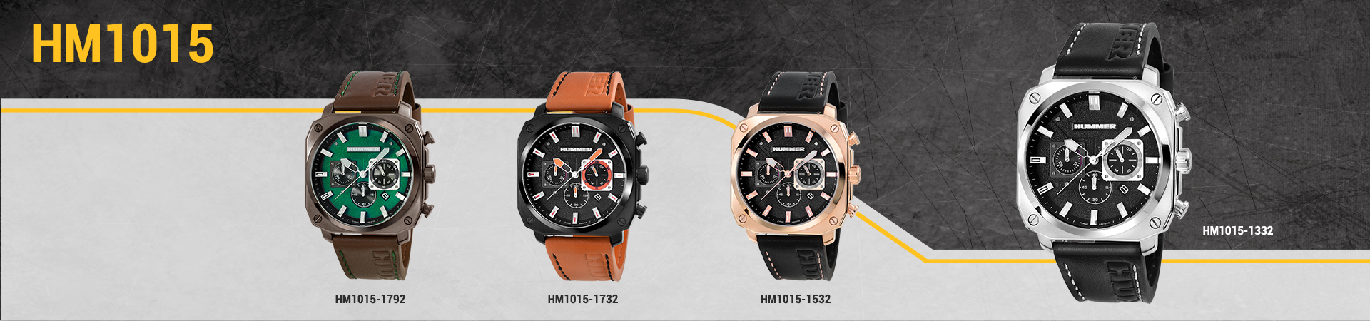 Hummer Watch Collection HM1015